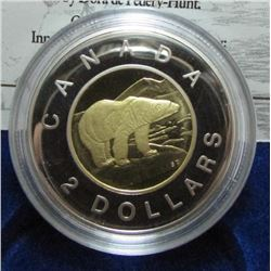 1996 Canada Proof $2 Toonie Coin - By RCM