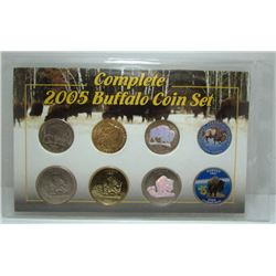 2005 USA Complete Buffalo Coin Set - 8 Coins
