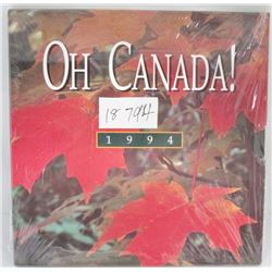 1994 Oh Canada! Coin Set By Royal Canadian Mint - Unopened