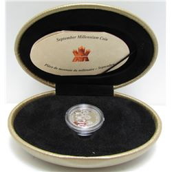1999 Canada Sterling Silver Millennium Coin - September