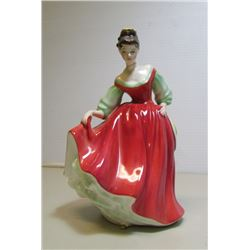"Royal Doulton ""Fair Lady"" by Peggy Davies Ltd. 1962...Discontinued"