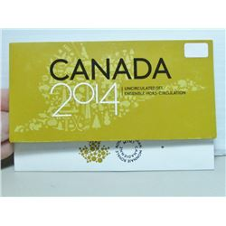 2014 Canada Uncircualted Coin Set By RCM