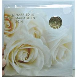 2014 Canada Married In 2014 Coin Set With Love Bird Loonie
