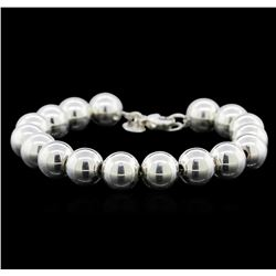Tiffany & Co. Bead Ball Bracelet - Silver