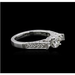 18KT White Gold 1.25ctw Diamond Ring