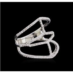 0.63ctw Diamond Ring - 14KT White Gold