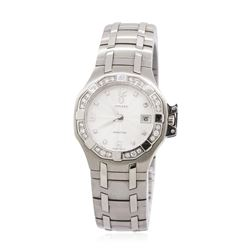 Concord Saratoga Stainless Steel 0.22ctw Diamond Ladies Watch