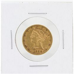 1896-S $5 XF Liberty Head Half Eagle Gold Coin