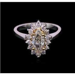 1.49ctw Diamond Ring - 14KT White Gold