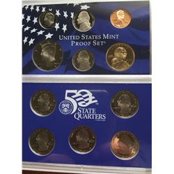 2004 proof mint sets