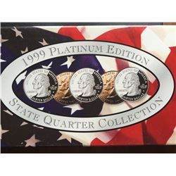 1999 platinum edition statehood quarters