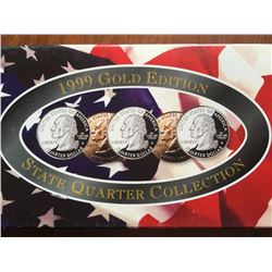 1999 gold edition statehood quarters