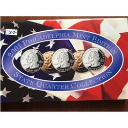 2001 Philadelphia mint collection