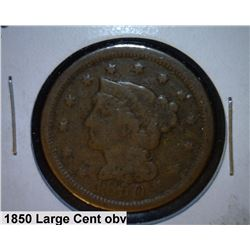 1850 Large US Cent