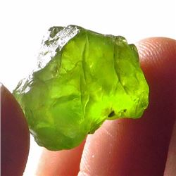 Natural Peridot Gemstone Rough 26.35 Carats