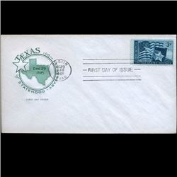 1945 US First Day Postal Cover