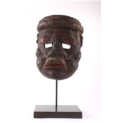 Antique rare African Tribal Mask, Ivory Coast.