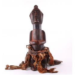 African Kissi Piomdo shrine figure, Guinea.  The