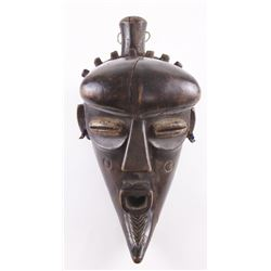 Antique Kuba-Kete Mask, Democratic Republic of the