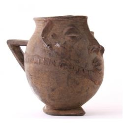 (2 of 3) African Kuba Anthropomorphic cup, Democratic