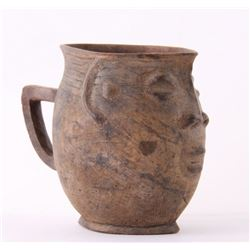 (3 of 3) African Kuba Anthropomorphic cup, Democratic