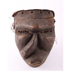 African Pende wood Mbangu sickness mask.  These masks