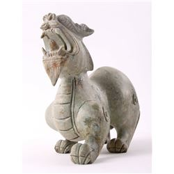 Chinese Jadeite Han Dynasty style  mythical creature.