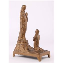 "French, ""Le Miracle Du Cierge"", metal Madonna, the"