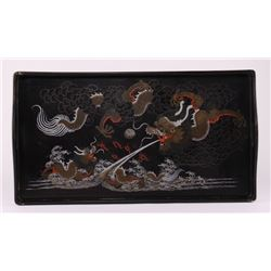 Shinshao An Baeukee Foochow, China hand painted black