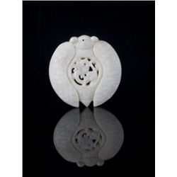 An alluring and exquisite Chinese white nephrite jade
