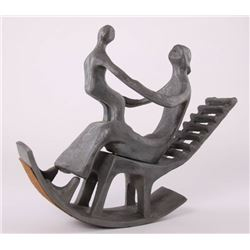 Henry Moore s1898-1986 (Manner of/Style/After) Iron