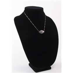 Vintage Italian 925 sterling silver chain with drip