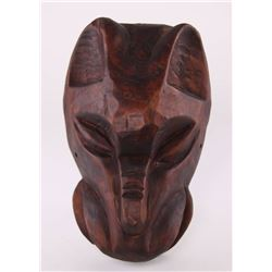 Costa Rican Jaguar ceremonial mask, circa 1960's.