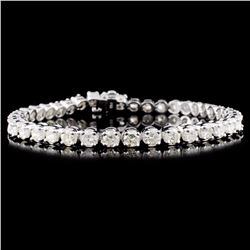 14K Gold 7.00ctw Diamond Bracelet