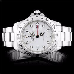 Rolex SS Explorer II Oyster Men's Watch