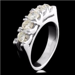 Platinum 1.00ctw Diamond Ring