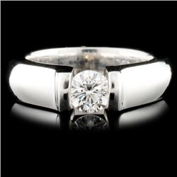 18K Gold 0.55ct Diamond Ring