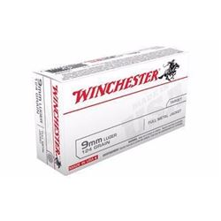 *AMMO* Winchester Ammo USA9MM Best Value USA 9mm FMJ 124 GR (300 ROUNDS) 020892212312