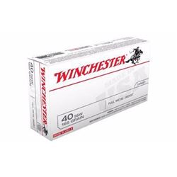 *AMMO* WINCHESTER USA 40SW 165 GR FMJ (500 ROUNDS) BEST VALUE 020892212350