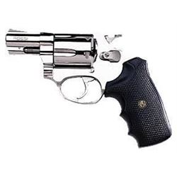 "*NEW* ROSSI Revolver 38 Special 2"" 5rd Black Rubber Grip Stainless Steel 662205352027"
