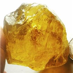 Natural Citrine Gemstone Rough 498.15 carats