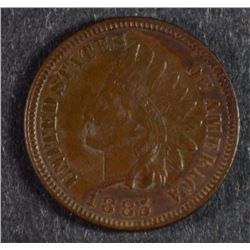 1885 INDIAN HEAD CENT, CHOICE BU