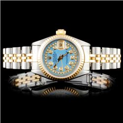 Rolex YG/SS Oyster DateJust Ladies Wristwatch