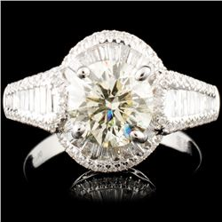 18K Gold 2.59ctw Diamond Ring
