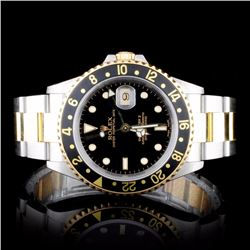 Rolex Two-Tone GMT Master II Men's Wristwatch