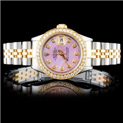 Rolex DateJust 1.00ct Diamond Ladies Watch