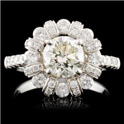 18K Gold 2.48ctw Diamond Ring