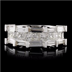 18K White Gold 1.20ctw Diamond Ring