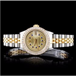 Rolex DateJust 1.50ct Diamond Ladies Watch