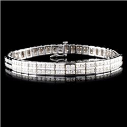 14K Gold 5.00ctw Diamond Bracelet